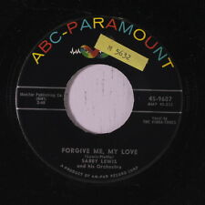 SABBY LEWIS & GROUP: Forgive Me My Love / Regretting 45 (sm tol) Vocal Groups