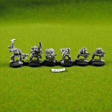 Warhammer 40K Ork Boyz (x6) Metal - Rogue Trader, OOP Citadel Space Orks Raiders