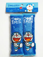 Doraemon Car Accessory: 2 pcs Seat Belt Shoulder Pad Covers NWT #G