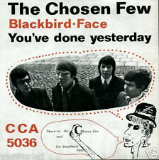 CCA 5036 The Chosen Few - Rare German Beat Single - 1967 - MINT
