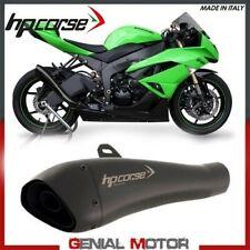 Terminale Di Scarico Hp Corse Hydroform Black Kawasaki Zx 6 R 2011 11