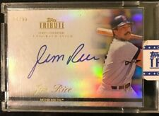 2012 Topps Tribute Jim Rice Auto Boston Red Sox Autograph /99