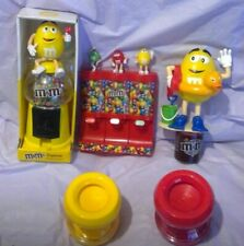 More details for m&m's sweet candy dispenser bundle novelty collectable