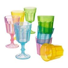 IKEA DUKTIG GLASS SET OF 8, MULTICOLOUR PLAY TOY FUN SPECIAL GIFT FOR KID NEW