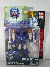 Blowpipe & Triggerhappy: Transformers Generations: Titans Return, On Card