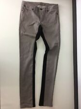 SUPERFINE Gris & Noir Stretch Skinny Jeans W26 L33