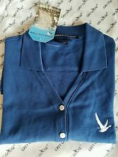 New Woman's Devon & Jones Grey Goose Collection Golf Sportswear Shirt size S