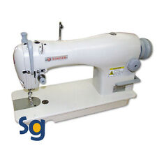 NEW Singer 191D-30 Industrial Sewing Machine with Stand, Servo Motor & Setup DVD