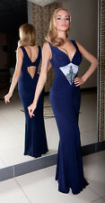 Formal Cocktail Party Evening Classic Prom Full Maxi Dress Size 8 - 18