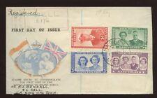 BASUTOLAND BELL POST OFFICE MASERU REGIST.1947 ROYAL VISIT ILLUSTRATED FDC