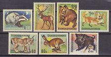 CZECHOSLOVAKIA 1966**MNH SC# 1428-1434  Animals