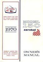 1970 Cessna 150 aerobat Owner's Manual on CD