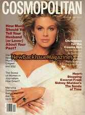 Cosmopolitan 12/88,Paula Abbott,December 1988,NEW