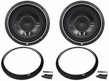 "2) Rockford Fosgate P3SD2-10 P3SD210 10"" 1200W Shallow Mount Car Subwoofers Subs"