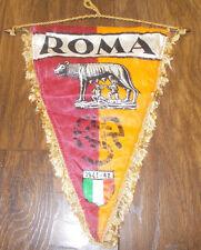 VINTAGE come ROMA ITALIA SERIE A Souvenir pennant