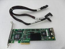 LSI 3Ware 9650SE-8LPML 8 Port SAS SATA 3Gb/s PCIe RAID 6 Controller w/Cables