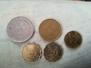 5 Münzen Hongkong