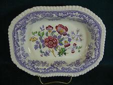 """Copeland Spode Mayflower 9 3/4"""" Oval Vegetable Serving Bowl"""