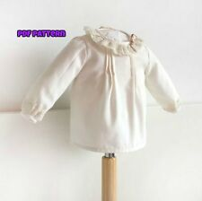 DIY- Baby LACE BLOUSE SHIRT DIGITAL SEWING PATTERN  Newborn 1-36 months Babies