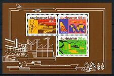 SURINAME Blok B21 MNH** 1978 - Stimulering economische ontwikkeling.