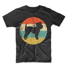 Brussels Griffon Shirt - Retro Griffon Bruxellois Men's T-Shirt - Dog Icon Shirt