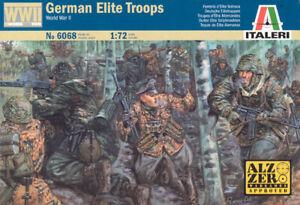 Italeri 1/72 WWII German Elite Troops # 6068
