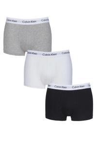 Calvin Klein Mens Authentic Cotton Stretch 3 Pack Boxers Briefs