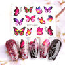 30Sheets Nail Art Stickers Watercolor Water Transfer Decals Flowers Theme Tips