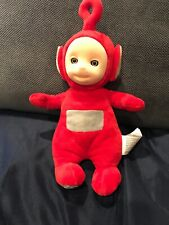 """2016 Spin Master Teletubbies 12"""" Red Talking Po Plush Stuffed Toy Sound (A)"""