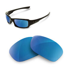 Polarized Replacement Lenses for oakley fives squared 3.0 blue mirror color