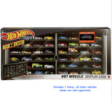 Hot Wheels Display Case Chevy Bel Air Vehicle Storage Rack for 50 Cars Gassers