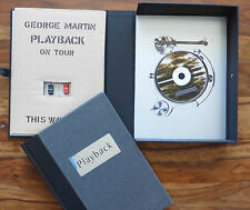 George Martin Playback Signed Genesis Publications Book CD Autograph Beatles 18/