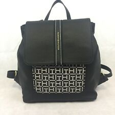 Tommy Hilfiger TH Logo Designer Faux Leather Back Pack Bag Purse NWT $98