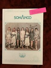 SONAMOO Deja Vu 1st Mini Album Special Edition Signed By All Members Autographed