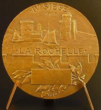 Medaglia 1945 La Resistenza LA Rochelle IV ° sedia sc Prud'homme Porto medal