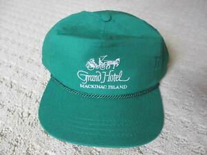 Vintage Michigan Grand Hotel Mackinaw Island Hat *