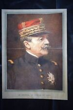 Le général Fernand Louis Armand Marie de Langle de Cary WW1 Guerra 1914 - 1918