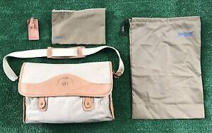 Vintage Hartmann Marley Hodgson 23 Original Ghurka Bag Canvas Leather Travel