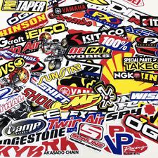 70 Mix Random Sticker Motocross Motorcycle Moto Graphic Racing Bike Helmet Decal