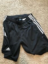 Adidas Black Clima-Lite Soccer Shorts Quality Thick Adult Large