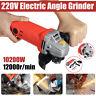 "1020W Electric Angle Grinder 100mm Cutting Grinding Polishing 4"" Heavy Duty"