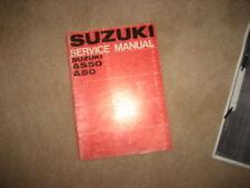 Manuel d'atelier Suzuki