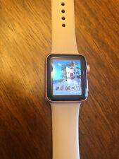 apple watch series 2 38mm Rose Gold Pristine Condition Bundle
