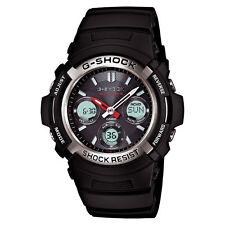 Casio Men's G-Shock AWGM100-1ACR Solar Atomic Digital Sports Watch Black New