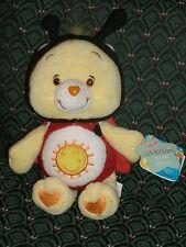 "Care Bear 8"" Series 10 * FUNSHINE BEAR *LADY BUG* NWT *2005* RARE * RETIRED"