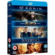 47 Ronin 3D RIPD 3D Immortals 3D Blu-ray