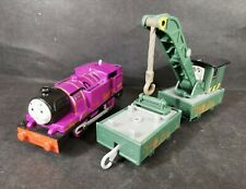 Muddy Ryan and Muddy Jerome Motorised Train Trackmaster Thomas And Friends