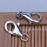 2 pcs 13mm Big Sterling Silver Lobster Claws Clasp Necklace Bracelet Jewelry DIY