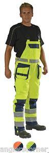 Ocean Medusa High-vis, Bib & Brace Trousers / Overall / Work Wear / 130-16-99
