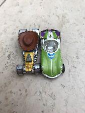 Disney Pixar Toy Story Buzz Lightyear And Woody Hot Wheels Cars